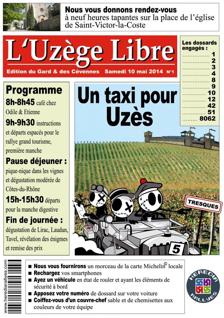 konvokweb Un Taxi pour Uzès